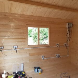 Domestic Electrical Installation Shed Outhouse Grange Electrical