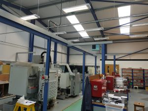 Grange Electrical Industrial Installation Factory